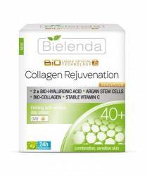 Bielenda Liquid Crystal Biotechnology 7D - Collagen Rejuvenation 40+ hidratáló és bőrkisimító nappali krém 50ml