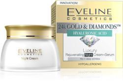 Eveline 24k Gold & Diamonds ránctalanító éjszakai krém 50ml