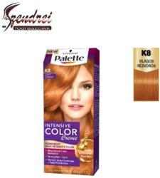 Palette Intensive Color Creme K8 Világos Rézvörös