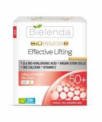 Bielenda Liquid Crystal Biotechnology 7D - Effective Lifting 50+ Lifting hatású, ránctalanító nappali krém 50ml