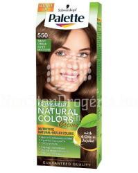 Palette Permanent Natural Colors 550 Sötét Mogyoró