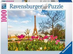 Ravensburger Az Eiffel-torony tulipánokkal 1000 db-os (19525)