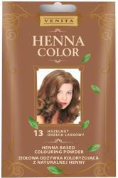 Henna Color 13 Mogyoróbarna Hajszínezőpor 25g