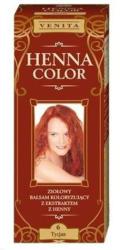 Henna Color 6 Tiziánó Vörös Hajfesték 75ml