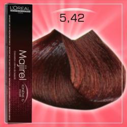 L'Oréal Majirel 5.42 Hajfesték 50ml