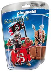 Playmobil Ezüstsárkány Lovagrend (5358)