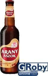Arany Ászok Világos Üveges sör 0,5l 4.3%
