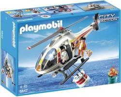 Playmobil Mentőhelikopter Mentőkosárral (5542)