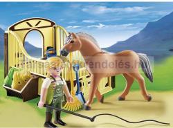 Playmobil Munkaló Karámmal (5517)