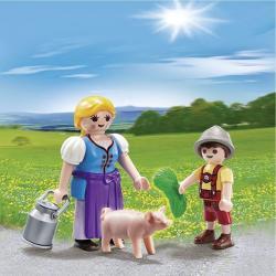 Playmobil Úton a friss tejjel Duo Pack (5514)