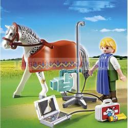 Playmobil Röntgenre váró lovacska (5533)