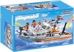 Playmobil Tűzoltó mentőhajó (5540)
