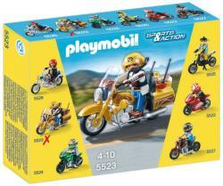 Playmobil Aranyló túramotor (5523)