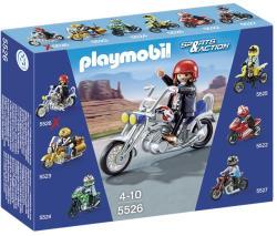 Playmobil Épített sólyom-chopper (5526)