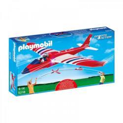 Playmobil Elhajítható siklórepülő - Fehér csillag (5218)