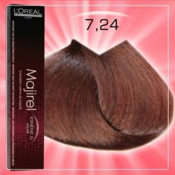 L'Oréal Majirel 7.24 Hajfesték 50ml