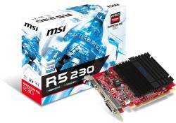 MSI Radeon R5 230 1GB GDDR3 64bit PCIe (R5 230 1GD3H)