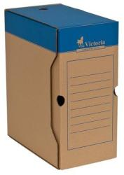 Victoria Archiváló doboz 150 mm A4 karton kék-fehér (IDVAD15)