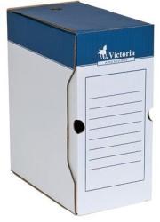 Victoria Archiváló doboz 150 mm A4 karton natúr (IDVAD15N)