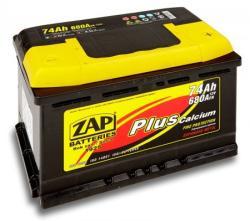 ZAP Plus 74Ah 680A Jobb+