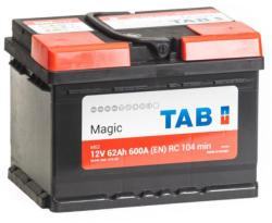 TAB Magic 62Ah 600A Jobb+