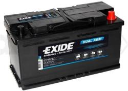 Exide DUAL AGM 92Ah 850A (EP800)