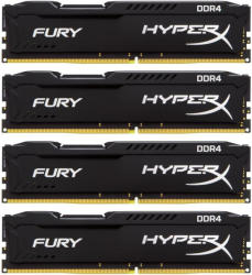 Kingston HyperX FURY 16GB (4x4GB) DDR4 2400MHz HX424C15FBK4/16
