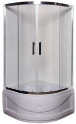 Leziter Spirit Deep 90x90 cm zuhanytálcával íves (SDEEP90)