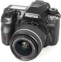 Pentax K-3 Mark II + 18-55mm DAL WR