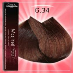 L'Oréal Majirel 6.34 Hajfesték 50ml