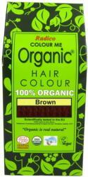 Radico Organic Barna Hajszínező Por 100g