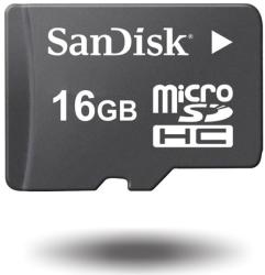 SanDisk microSDHC 16GB Class 4 SDSDQB-016G-B35