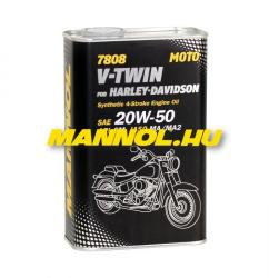 MANNOL 7808 4T V-Twin Harley 20W-50 (1L)