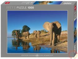 Heye Szomjas elefántok (Richard du Toit) 1000 db-os (29595)