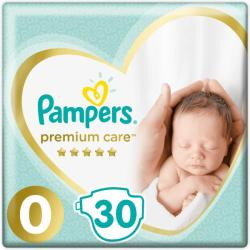 Pampers Premium Care 0 Newborn (2-5kg) 30db