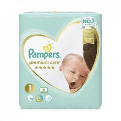 Pampers Premium Care 1 Newborn (2-5kg) 78db