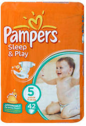 Pampers Sleep & Play 5 Junior (11-18kg) 42db