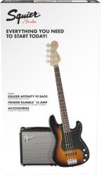 Squier Affinity Precision Bass Pack
