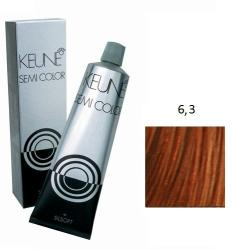 Keune Semi Color 6.3 Hajszínező 60ml