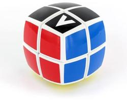 Verdes Innovation S. A. V-Cube 2x2 versenykocka, lekerekített, matrica nélküli