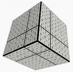 Verdes Innovation S. A. V-Cube V-udoku 3x3 versenykocka