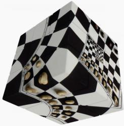Verdes Innovation S. A. V-Cube Sakktábla illúzió 3x3 versenykocka