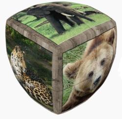 Verdes Innovation S. A. V-Cube Vadállatok 2x2 versenykocka - lekerekített