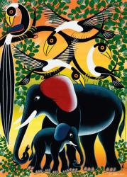 Heye Elephant Family (Tinga Tinga) 1000 db-os (29458)
