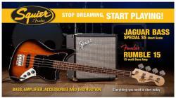 Squier Jaguar Bass Special Rumble 15 Set