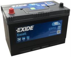 Exide Excell 95Ah 720A Bal+ Ázsia (EB955)