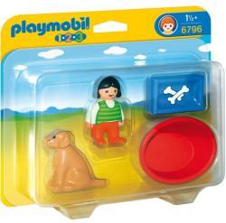 Playmobil Fetiţa cu câine (6796)
