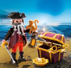 Playmobil Piratul Cu Comoara (4783)