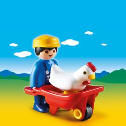 Playmobil Găină În Roabă (6793)