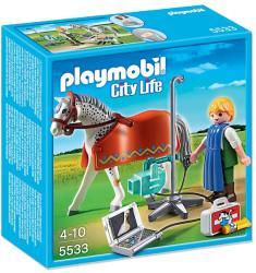 Playmobil Cal şi tehnician de radiografie (5533)